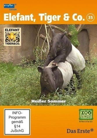 DVD »Elefant, Tiger & Co. - Heißer Sommer, DVD«