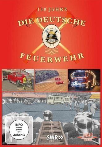 DVD »Die deutsche Feuerwehr - 150 Jahre, DVD«