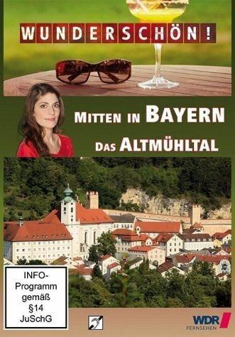 DVD »Mitten in Bayern - Das Altmühltal, 1 DVD«