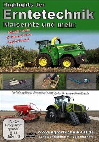 DVD »Highlights der Erntetechnik - Maisernte und...«