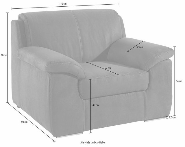 Sofas - DOMO collection Polstergarnitur, (Spar Set)  - Onlineshop OTTO