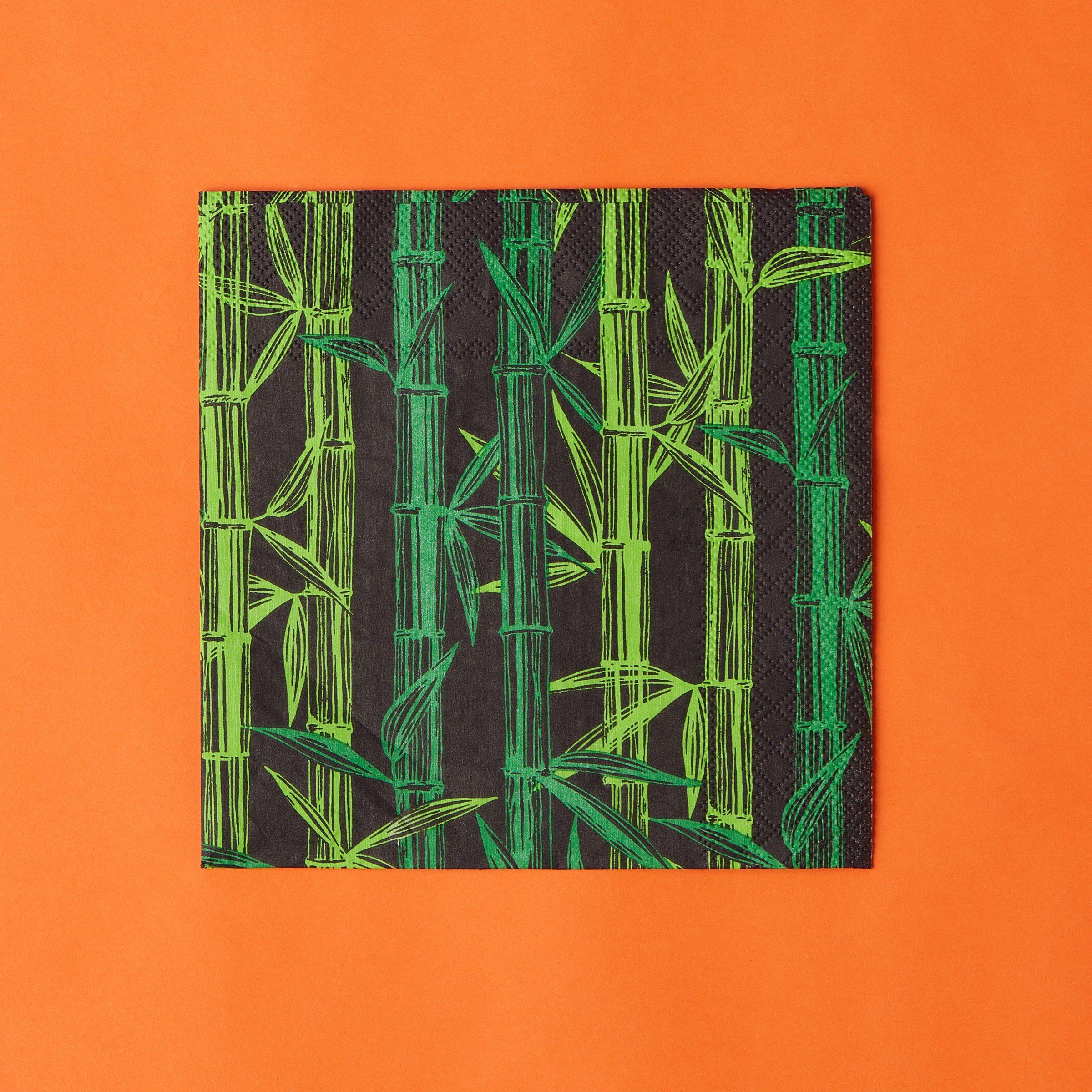 BUTLERS APRÈS »Papierserviette Bambus«