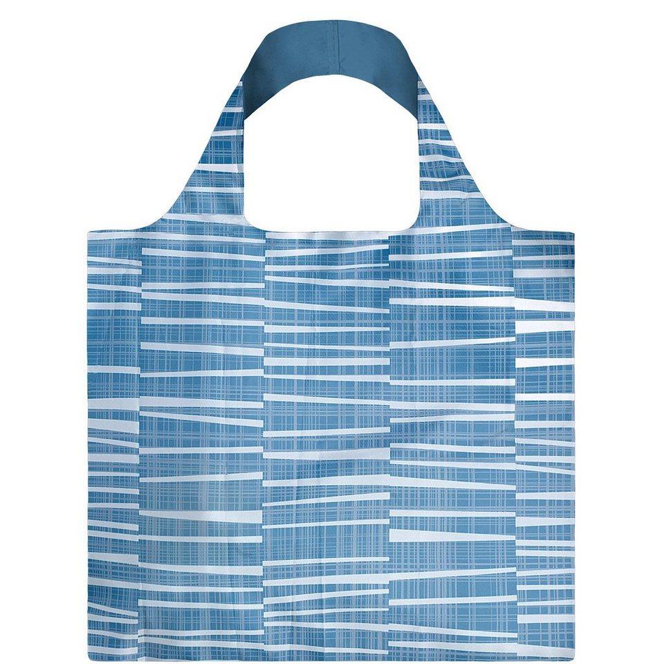 BUTLERS LOQI »Einkaufstasche Water« in Blau