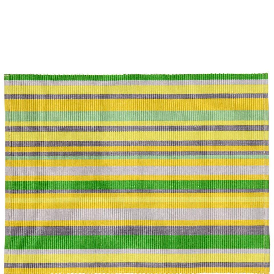 BUTLERS LEMON PUNCH »Tischset« in gruen-gelb