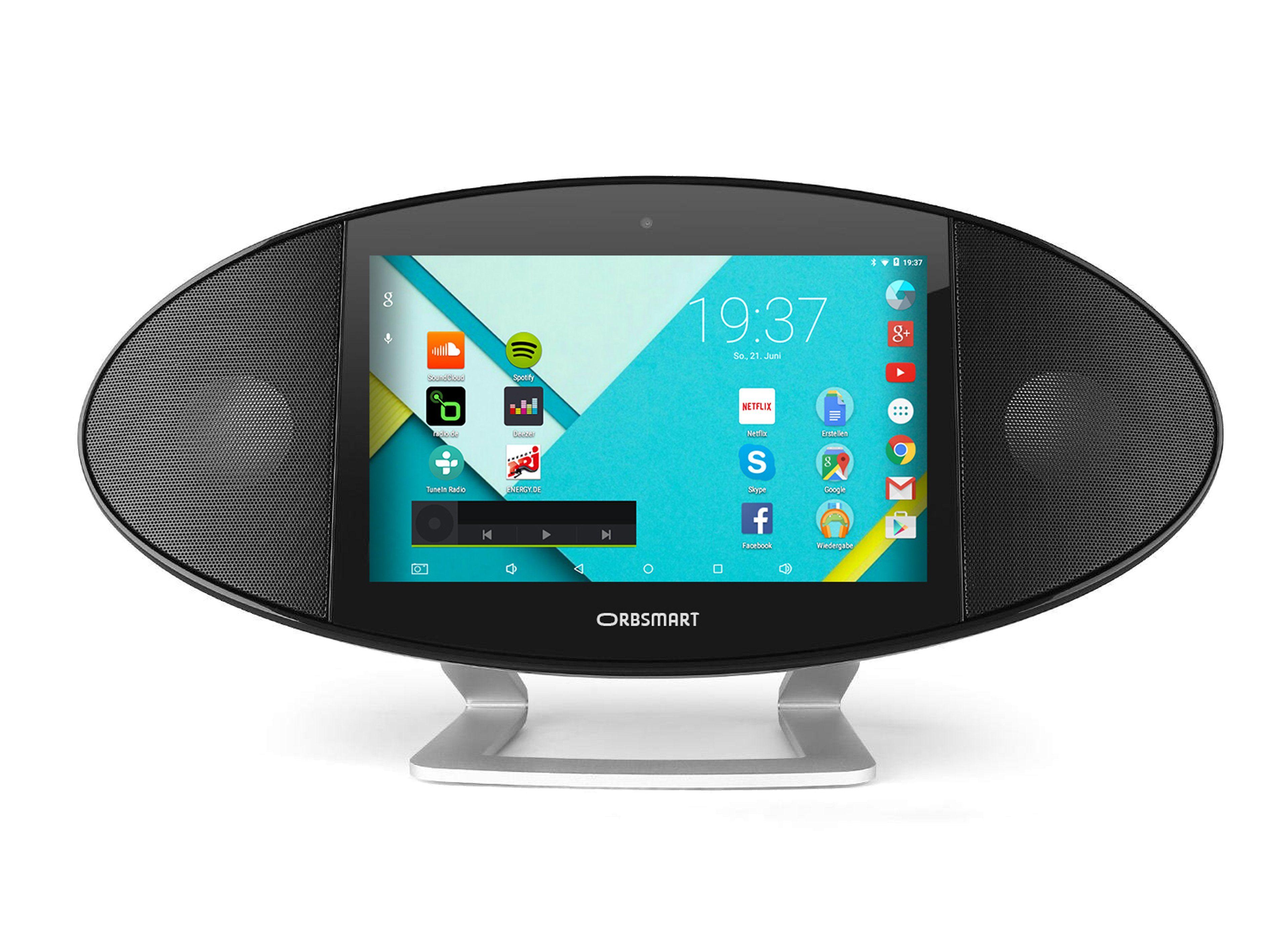 Orbsmart Mediacenter / Multiroom-System mit WiFi & Bluetooth »Soundpad 500«