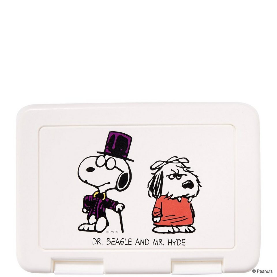 BUTLERS PEANUTS »Brotdose Dr. Beagle & Mr. Hyde« in weiss