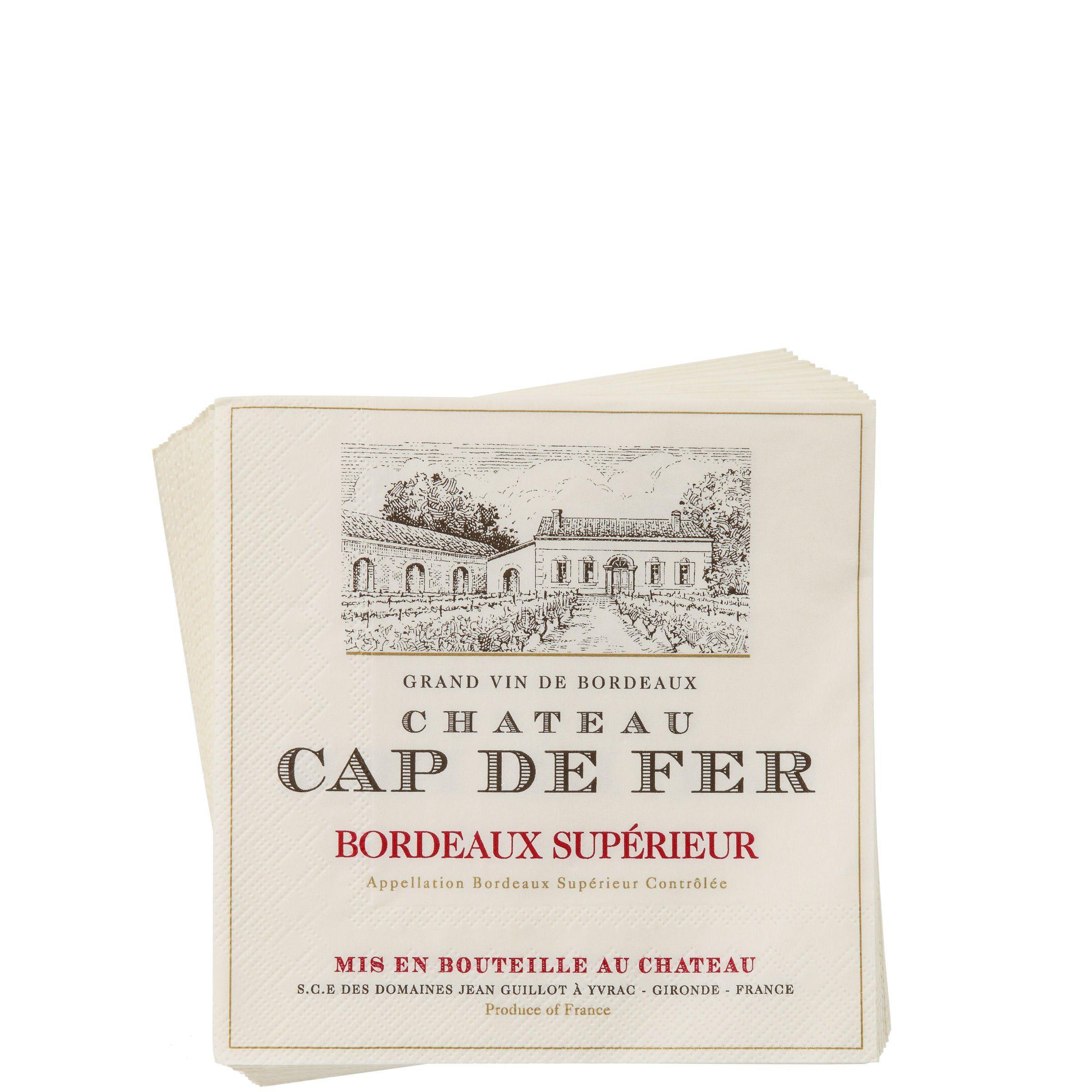BUTLERS APRÈS Cocktailserviette »Cap der Fer«
