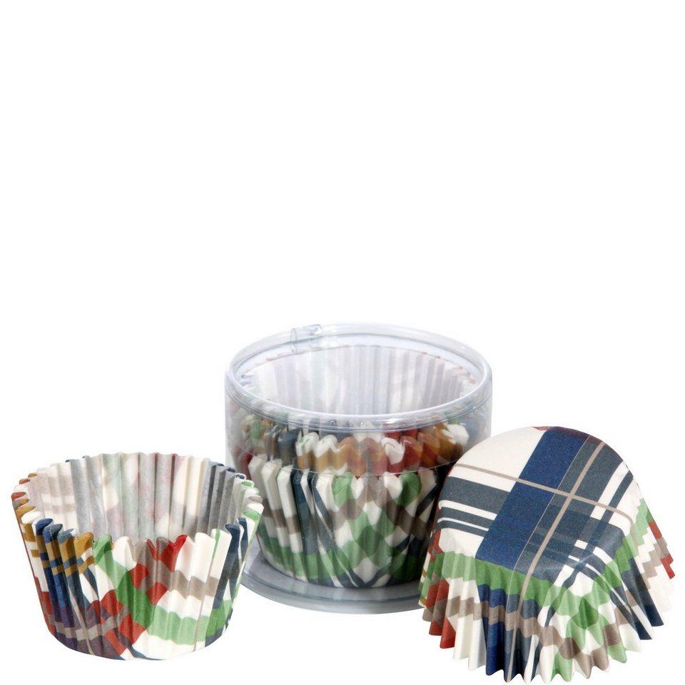 BUTLERS CUPCAKE »Papierförmchen Karo« in bunt