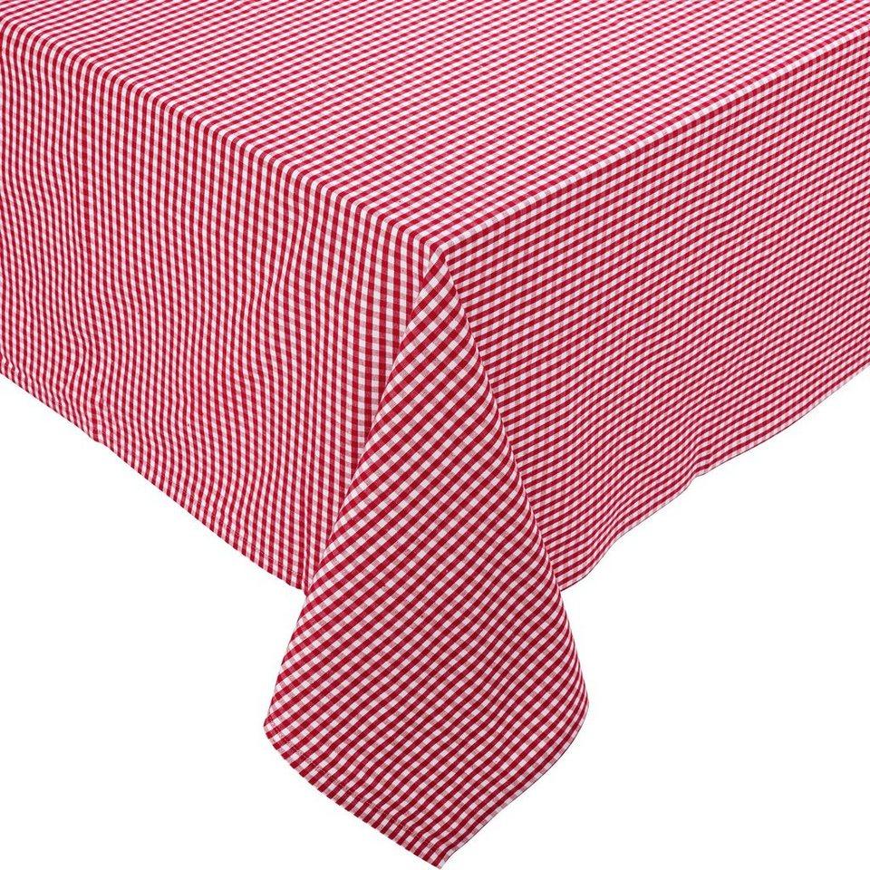 BUTLERS VICHY »Tischdecke« in rot