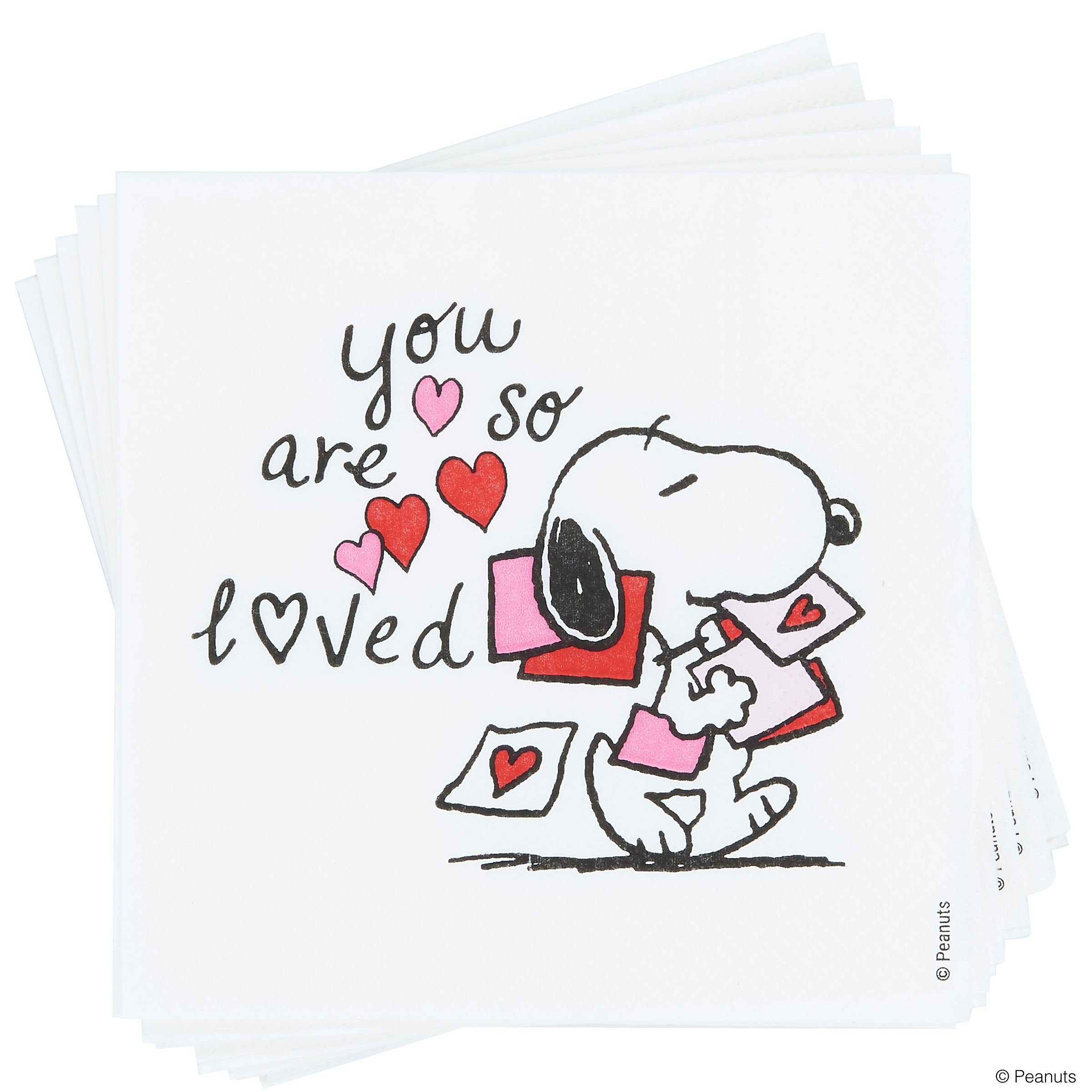 BUTLERS PEANUTS »Papierserviette Snoopy You're so«