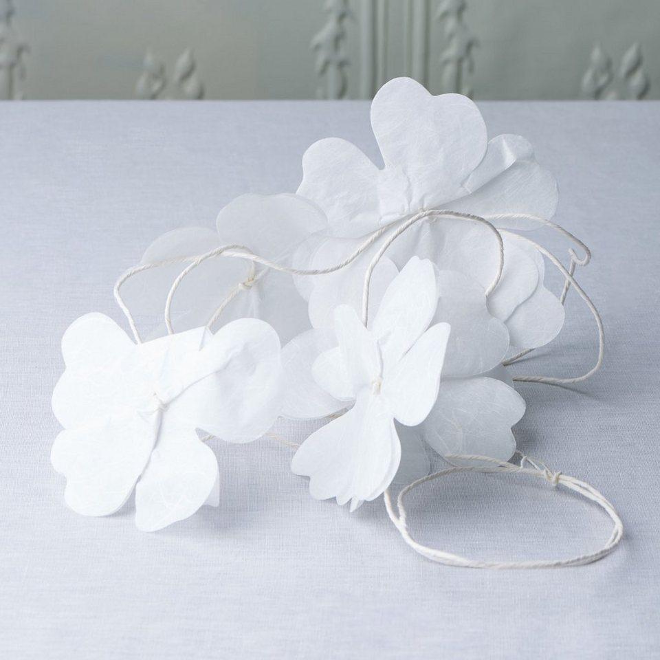 BUTLERS BLOSSOM »Blumen Girlande« in weiss