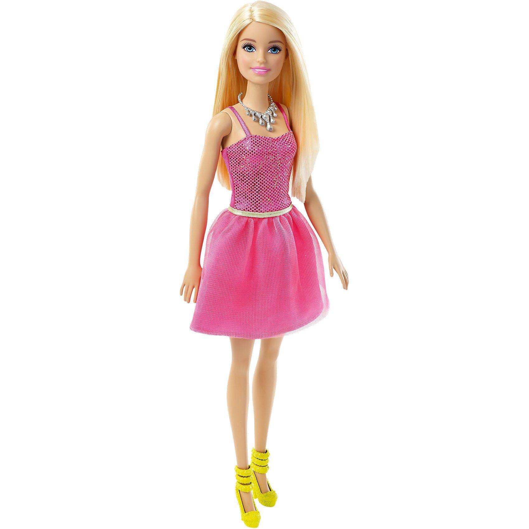 Mattel® Barbie im pinken Glitzerkleid