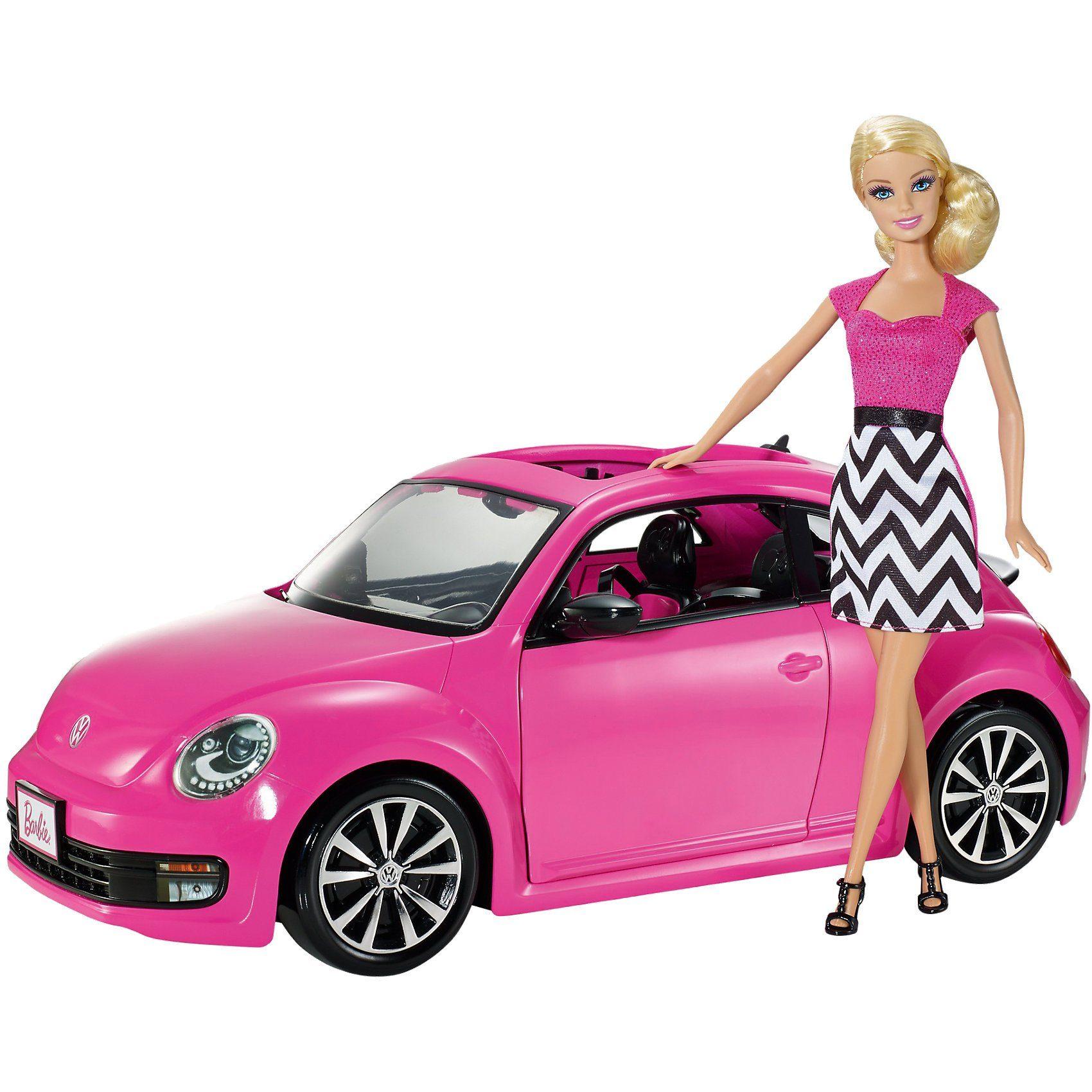 Mattel Barbie Volkswagen The Beetle & Puppe