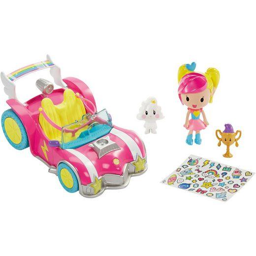 """Mattel® Barbie """"Die Videospiel-Heldin"""" Pixel-Mobil Set mit Puppe"""