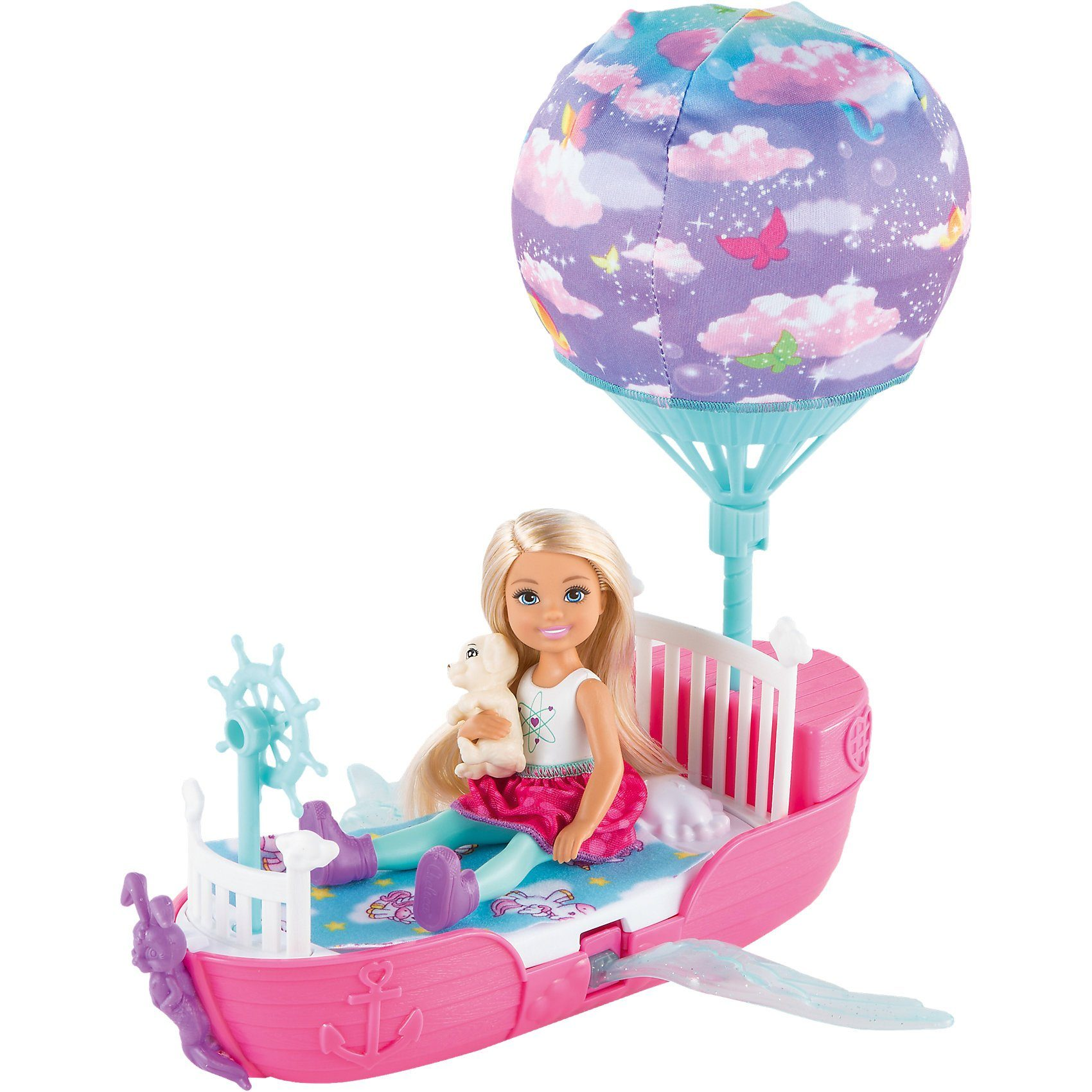 Mattel® Barbie Dreamtopia Chelseas Traumboot