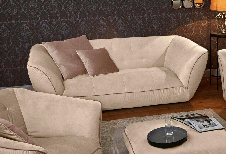 guido maria kretschmer home living big sofa nida inklusive zierkissen online kaufen otto. Black Bedroom Furniture Sets. Home Design Ideas