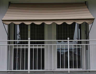klemmmarkisen f r balkon nw19 hitoiro. Black Bedroom Furniture Sets. Home Design Ideas