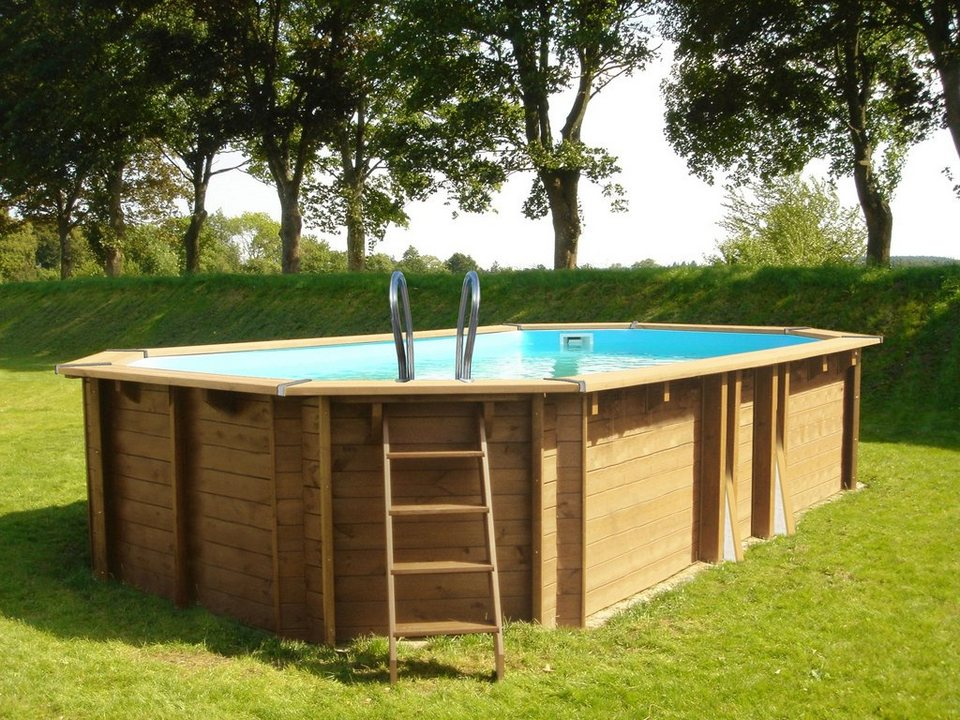Gre ovalpool safran b l h 363 593 130 cm 6 tlg for Otto pool oval