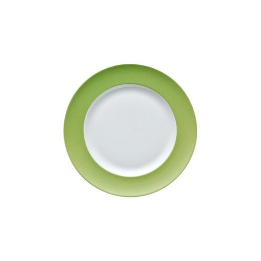 Thomas Porzellan Brotteller »Sunny Day Apple Green Brotteller 18 cm«, (1 Stück)