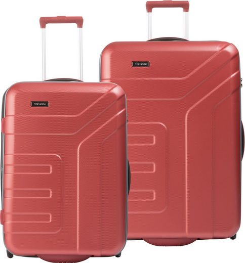 travelite Trolleyset »Vector«, 2 Rollen, (2 tlg)