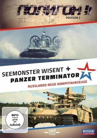 DVD »Russlands neue Kampffahrzeuge, 1 DVD«