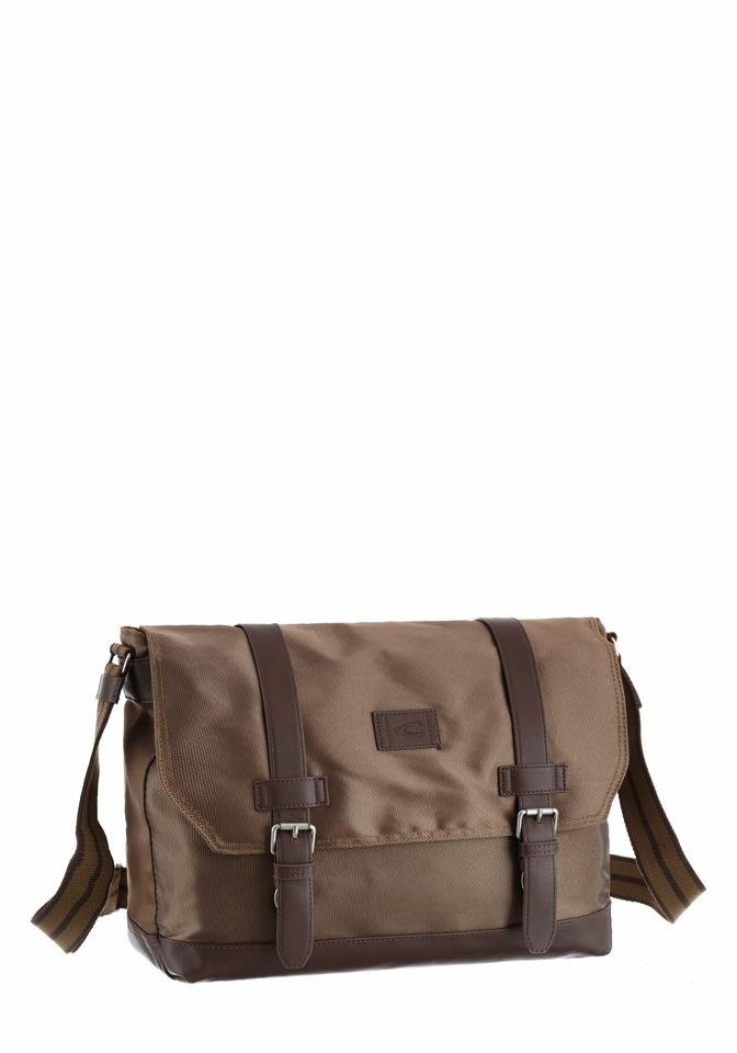 camel active Messenger Bag »Caracas« in olivgrün