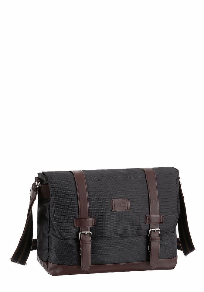 camel active Messenger Bag »Caracas« in schwarz