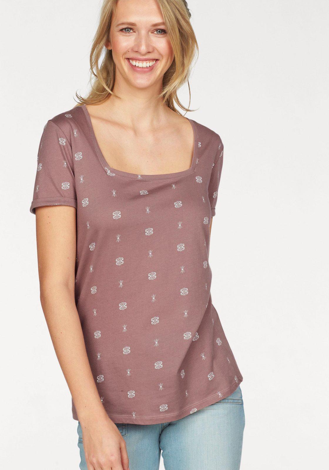 Cheer T-Shirt, mit modischem Karree-Ausschnitt jetztbilligerkaufen