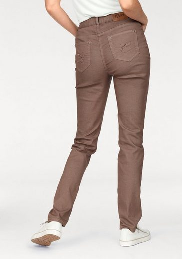 Cheer Slim-fit-Jeans, in leichter Used-Waschung