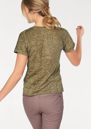 Cheer T-Shirt, in modischer Ausbrenner-Qualiät