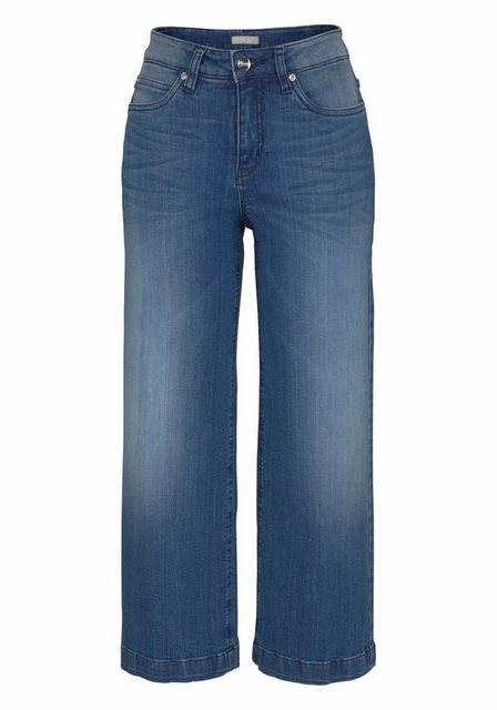 Hosen - Aniston CASUAL 7 8 Jeans in Used Waschung › blau  - Onlineshop OTTO