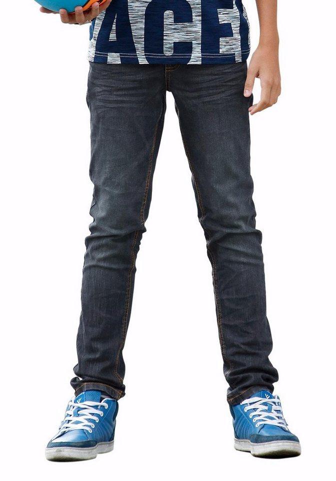 sOliver RED LABEL Junior StretchJeans, Regularfit mit  -> Waschmaschine Jeans