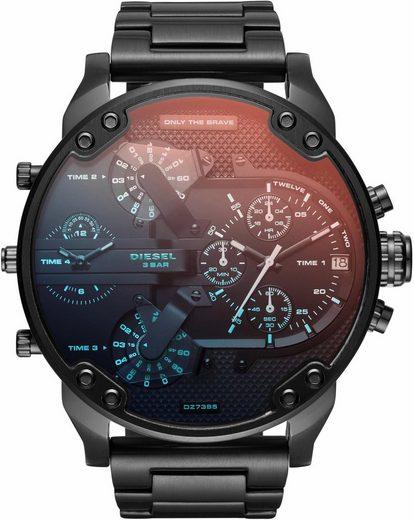 Diesel Chronograph »MR DADDY 2.0, DZ7395«, mit irisierendem Mineralglas