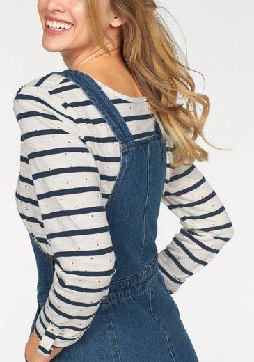 Cheer Jeanskleid, mit verstellbaren Trägern
