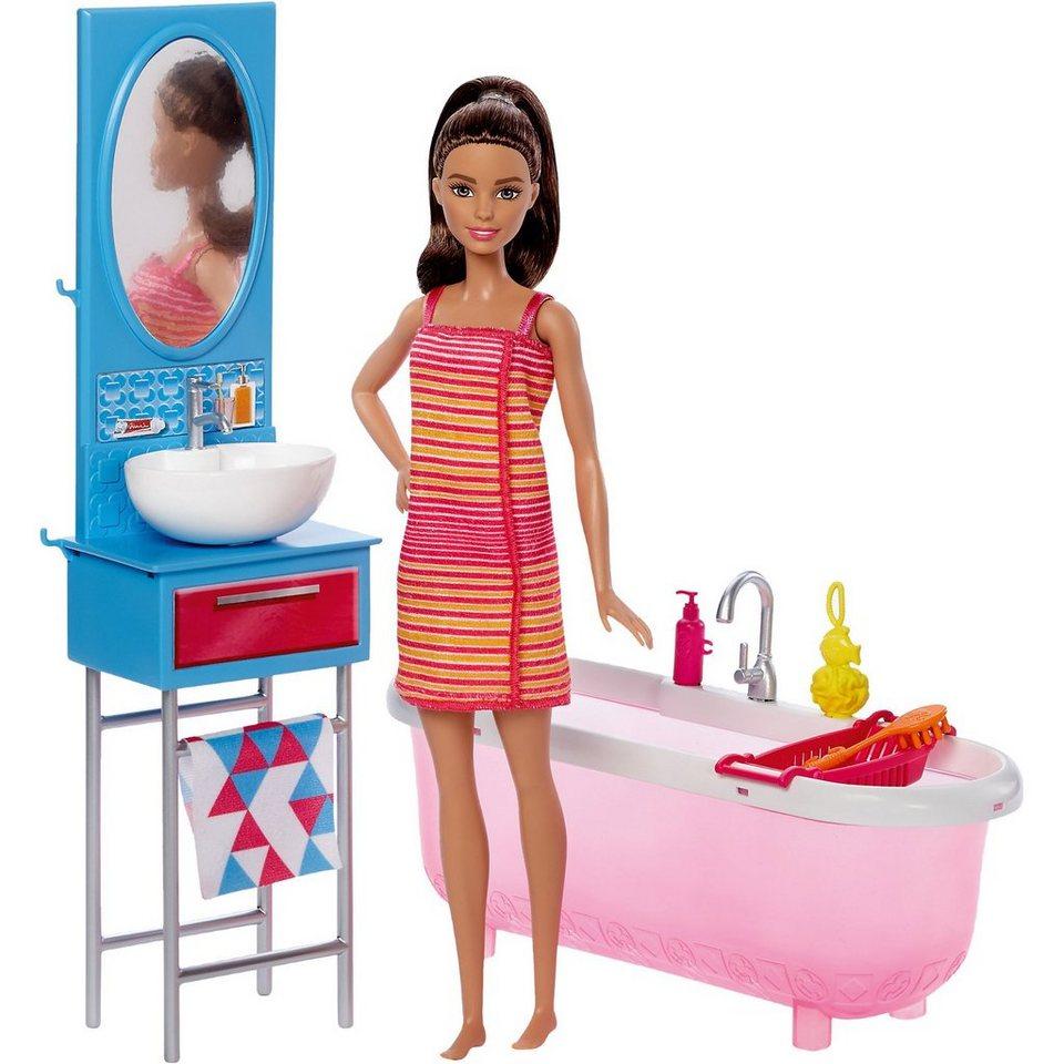 Mattel Barbie Möbel Badezimmer U0026 Puppe