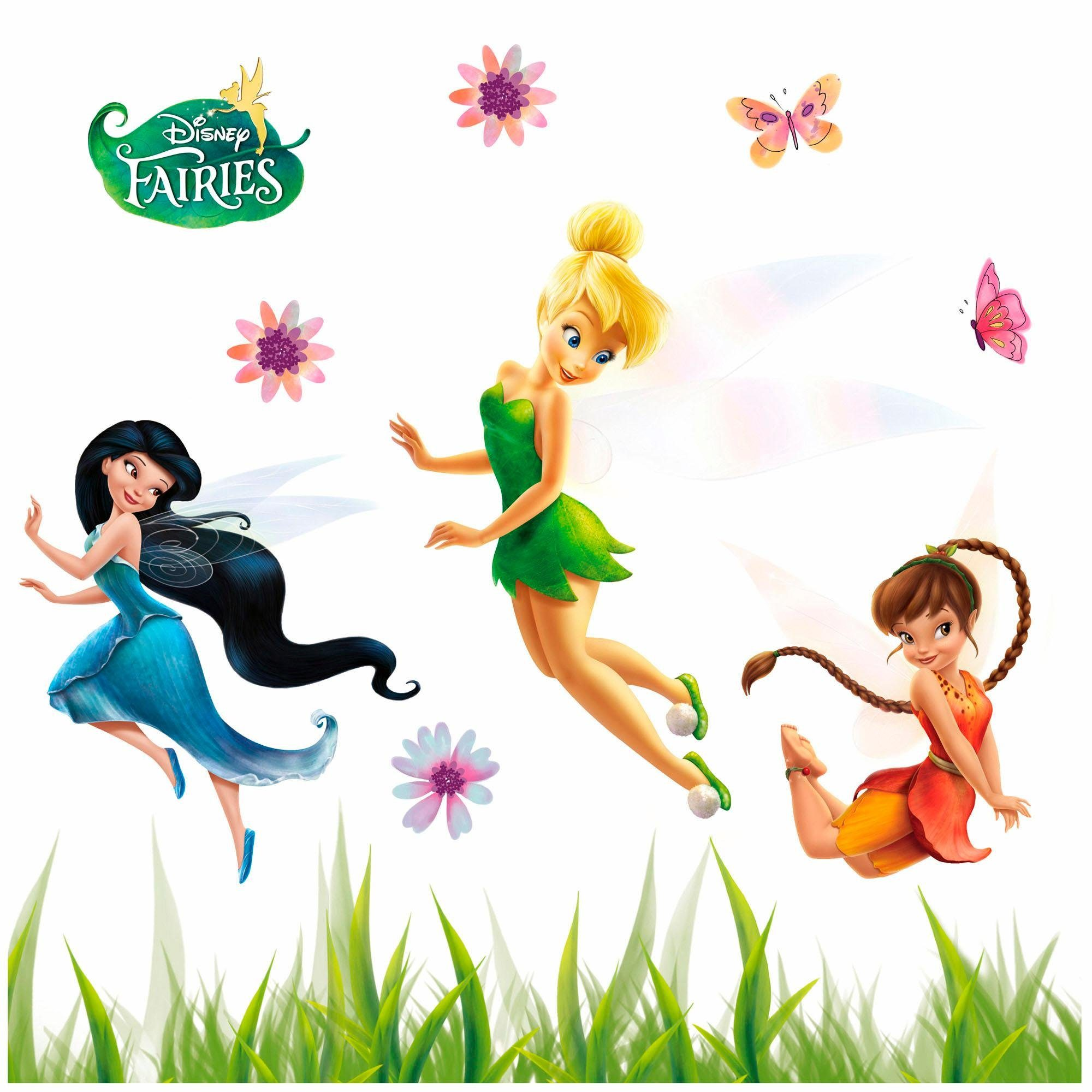 Komar Window-Sticker »Disney Fairies«, 31/31 cm