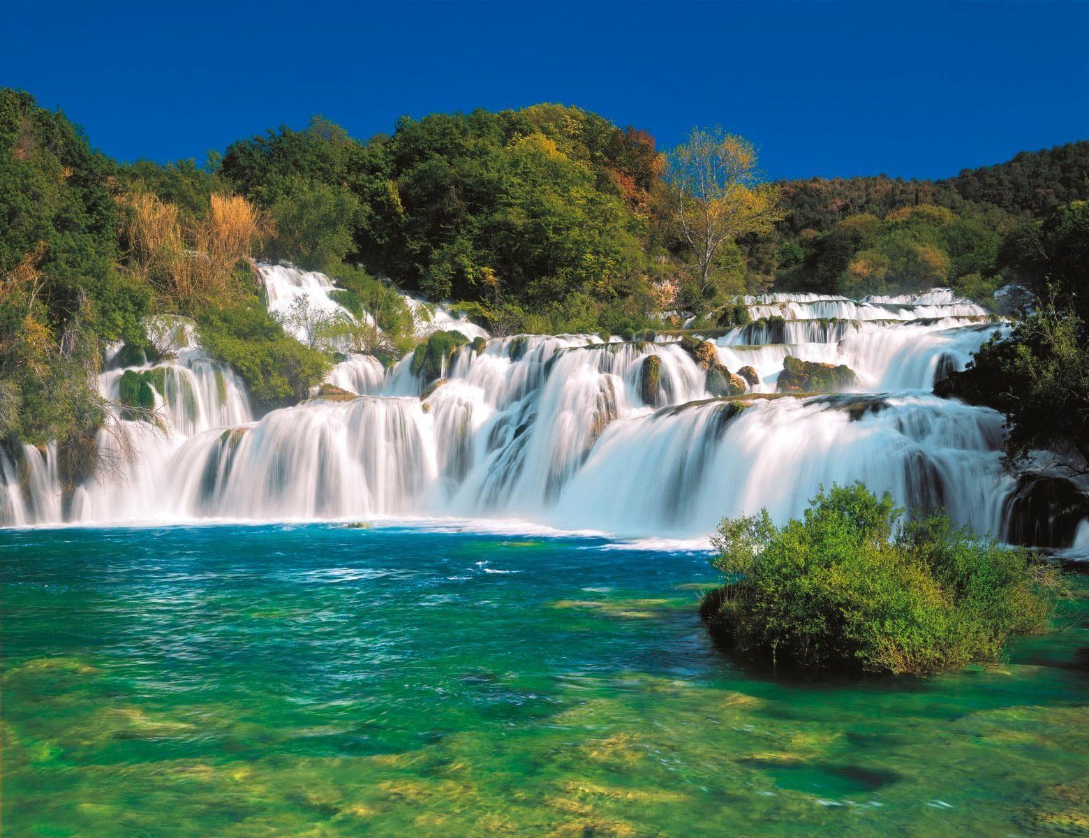 Home affaire Fototapete »Krka Falls«, 368/254 cm