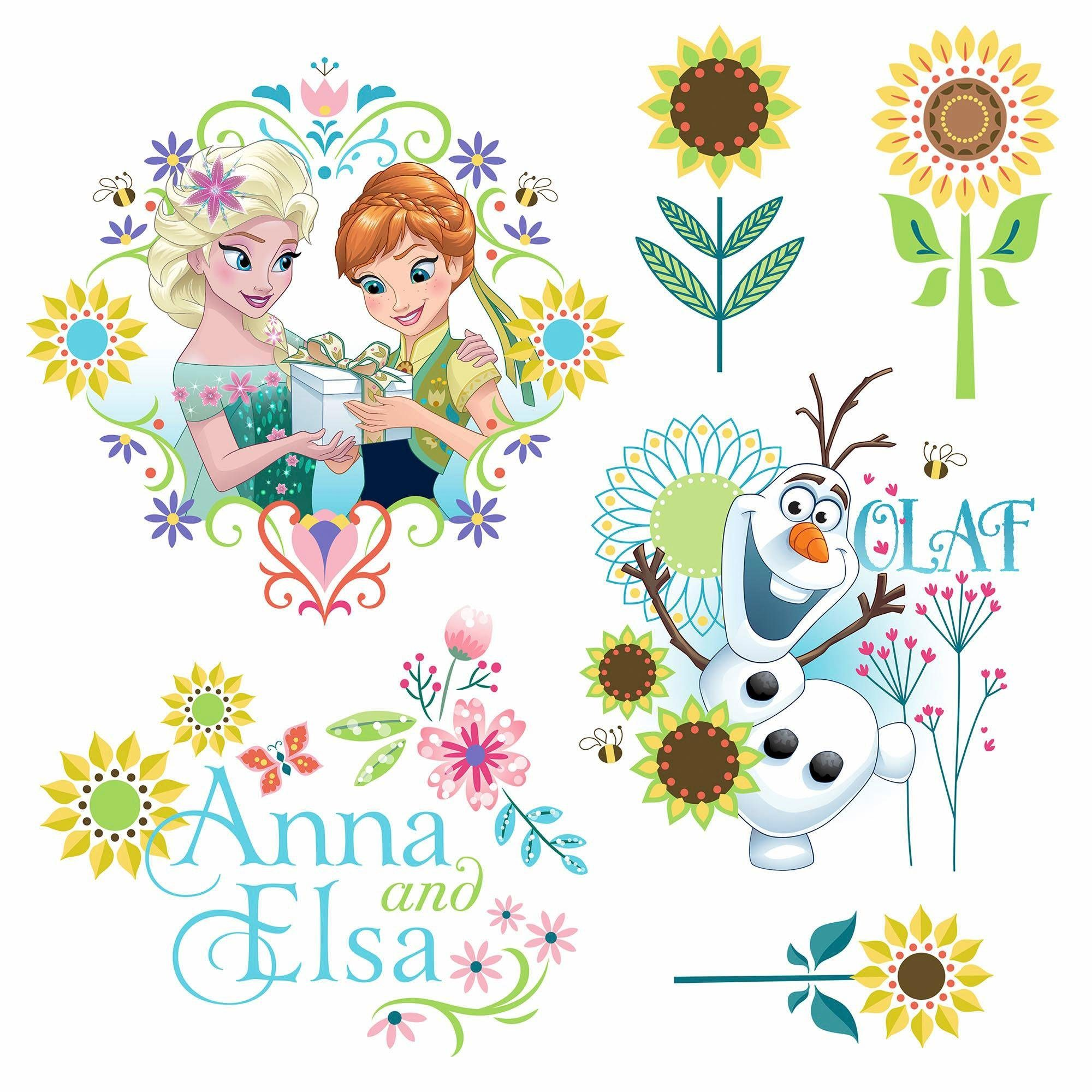 Komar Window-Sticker »Frozen Flower«, 31/31 cm