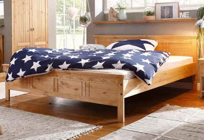 Bett 140x200 holz massiv  Massivholzbett 140x200 cm online kaufen | OTTO