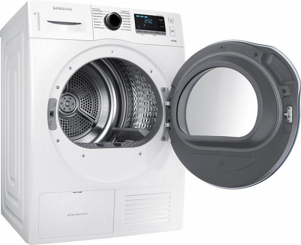Samsung wärmepumpentrockner dv6000 dv80k6010cw eg 8 kg online