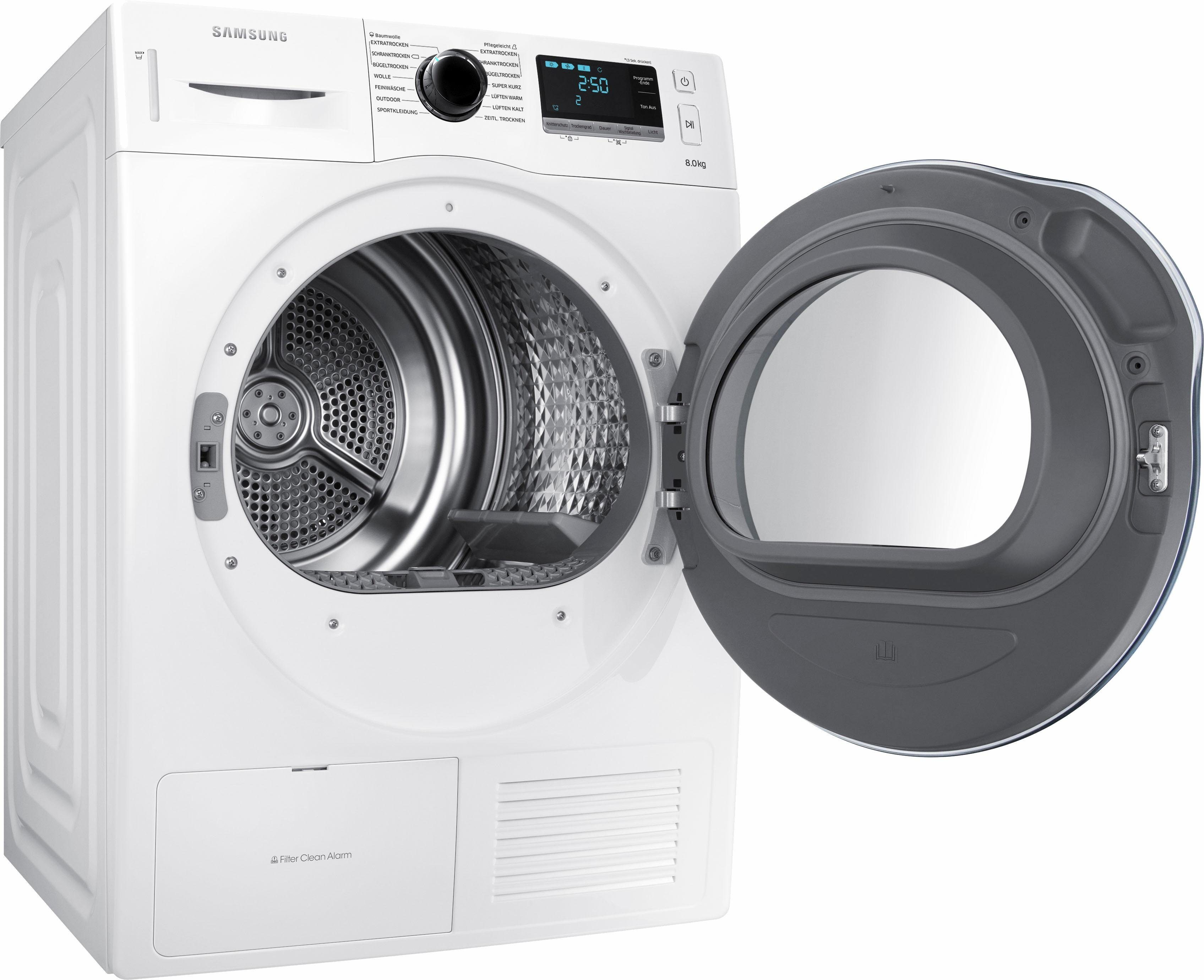 Samsung Wärmepumpentrockner DV6000 DV80K6010CW/EG, 8 kg
