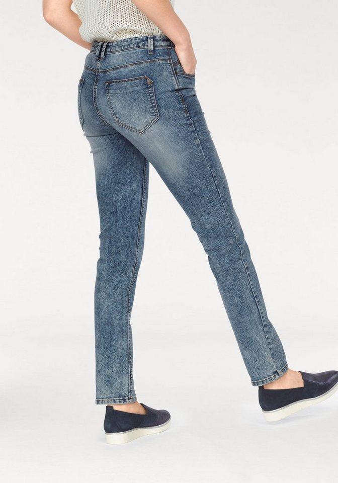 Tamaris Röhrenjeans im 5-Pocket-Style in blue-washed