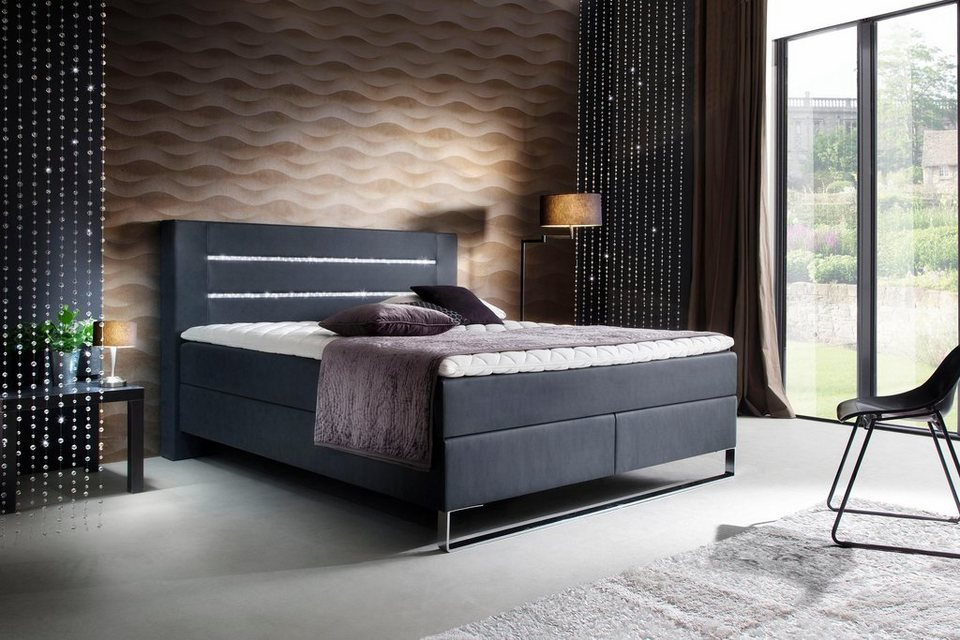 meise m bel boxspringbett veredelt mit swarovski. Black Bedroom Furniture Sets. Home Design Ideas