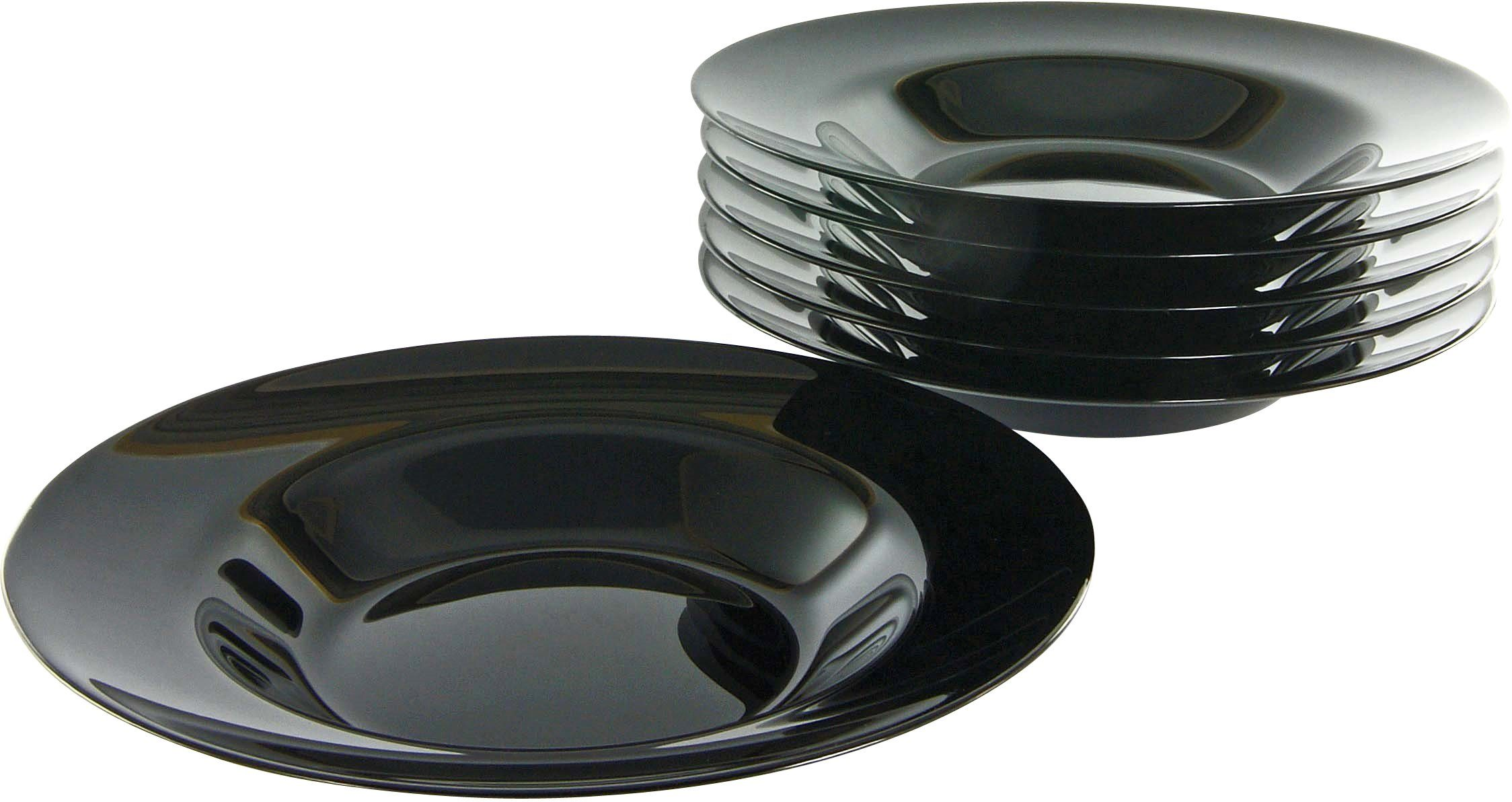 Luminarc Pastateller, Opalglas (6 Stck.)