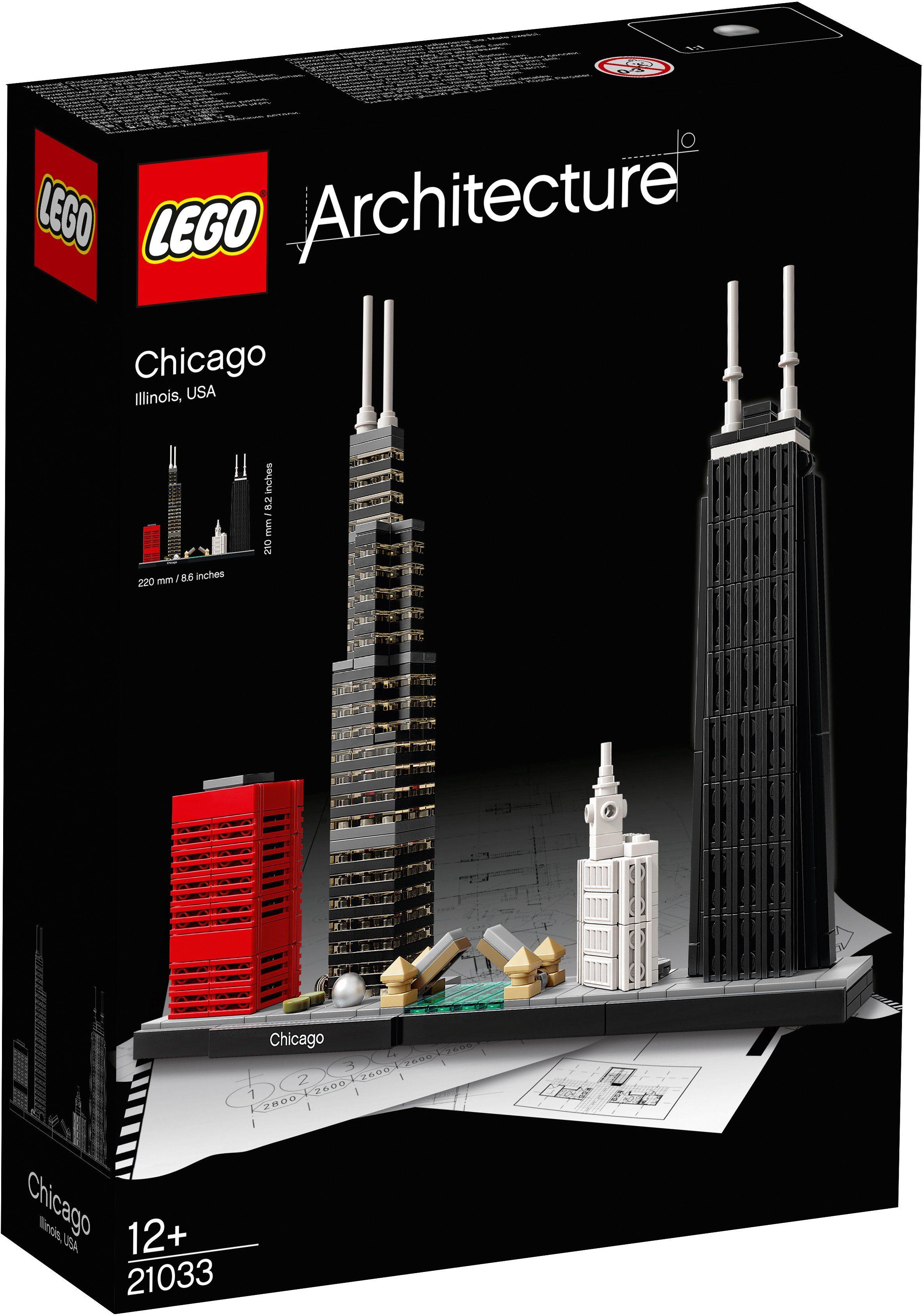 LEGO®, Chicago (21033), »LEGO® Architecture«