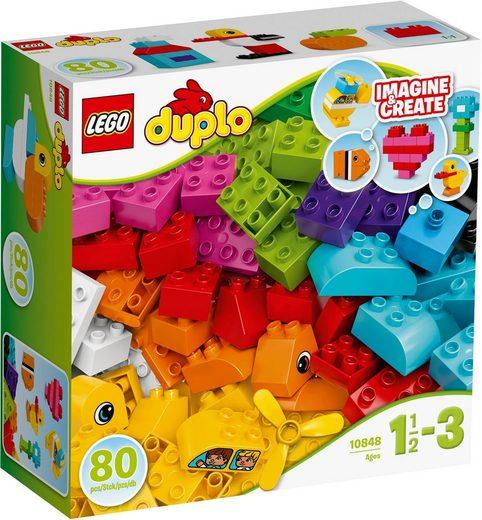 LEGO® Spielbausteine »Meine ersten Bausteine (10848), LEGO® DUPLO®«, (80 St)