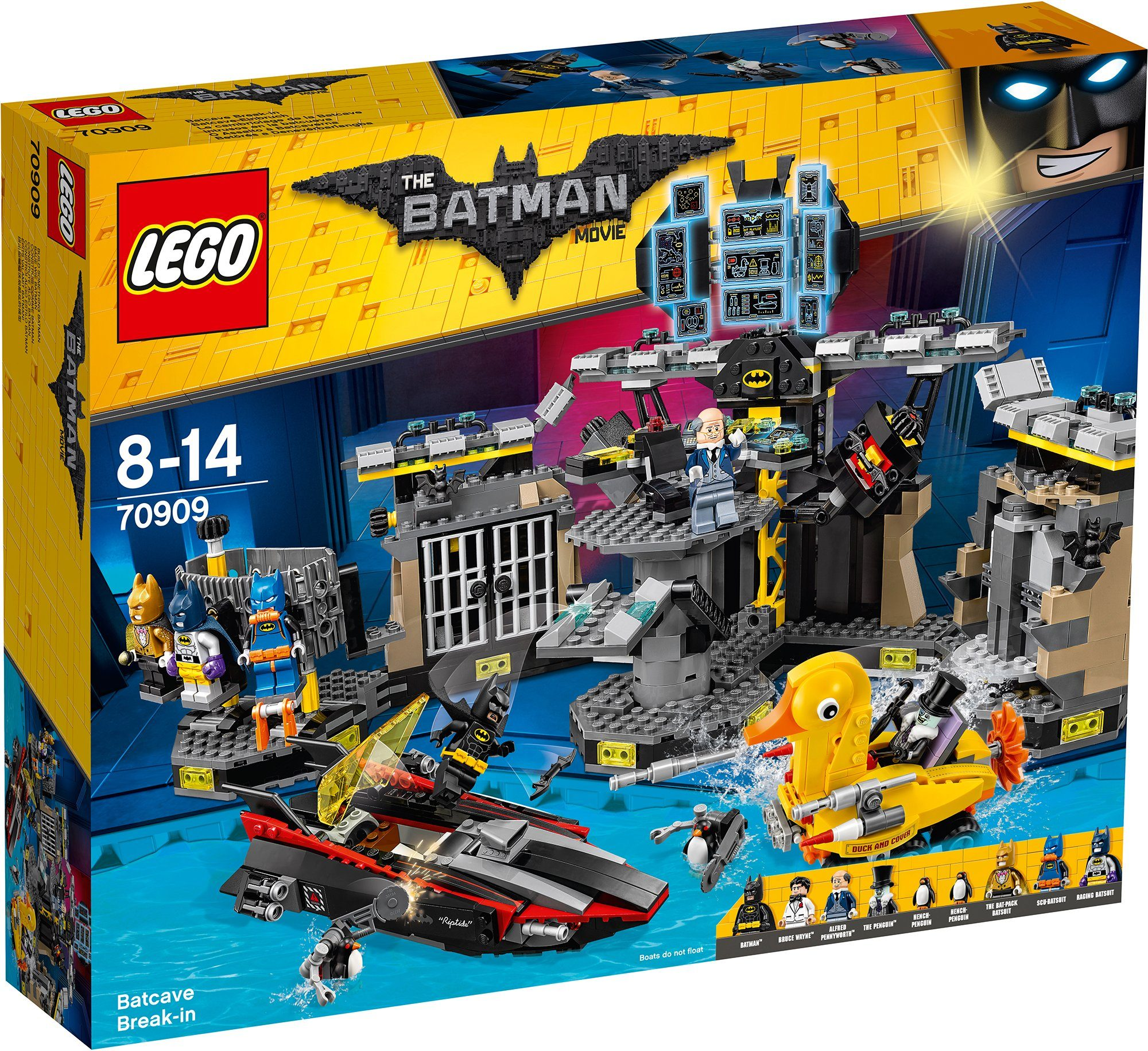LEGO®, Batcave-Einbruch (70909), »THE LEGO® BATMAN MOVIE«