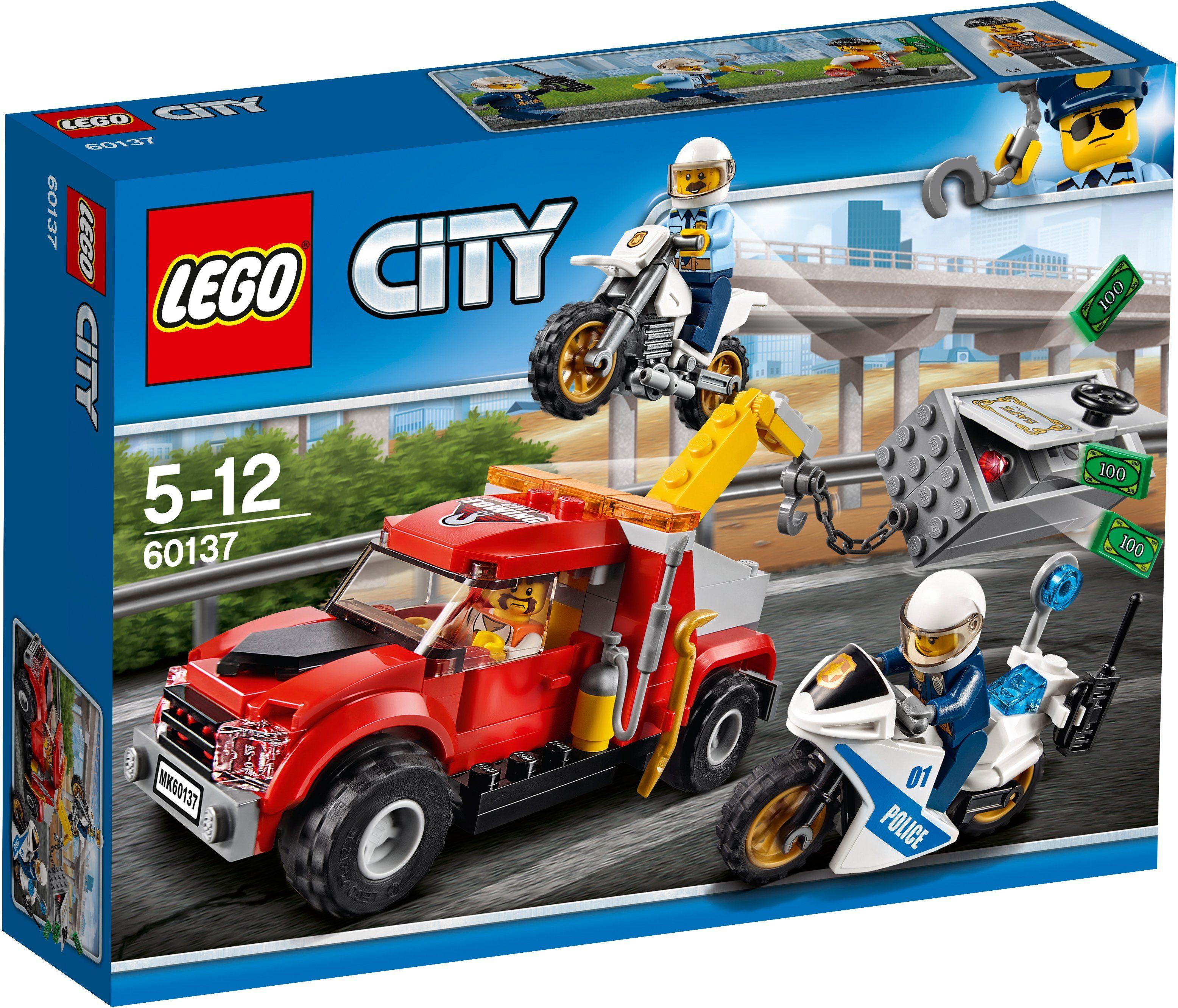 LEGO®, Abschleppwagen auf Abwegen (60137), »LEGO® City«