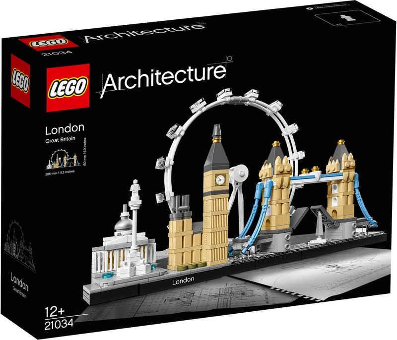 LEGO® Konstruktionsspielsteine »London (21034), LEGO® Architecture«, (468 St), Made in Europe