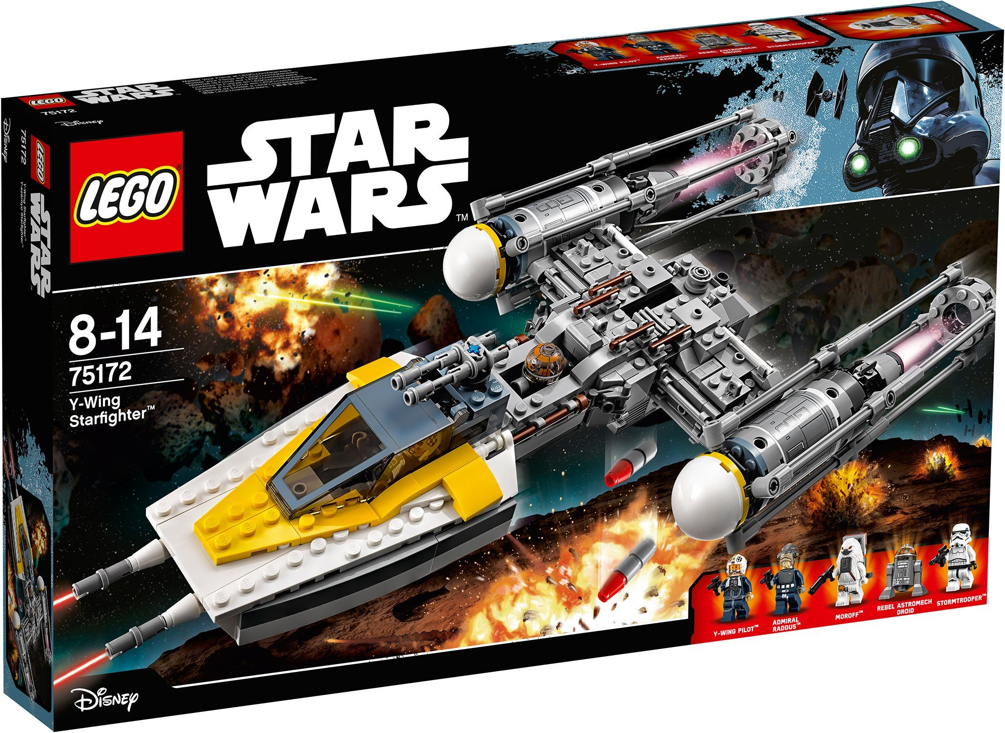 LEGO®, Y-Wing Starfighter™ (75172), »LEGO® Star Wars™«